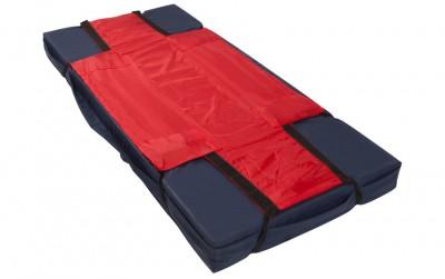 ski sheet on mattress